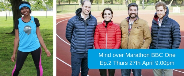 Mind over Marathon BBC One Shereece Foster